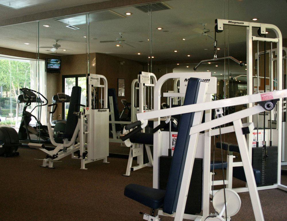 Free Weights at Lodge at Mallard Creek Apartments, Charlotte, NC 28269