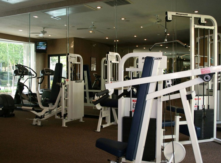 Free Weightsat Lodge at Mallard Creek Apartments, Charlotte, NC 28269