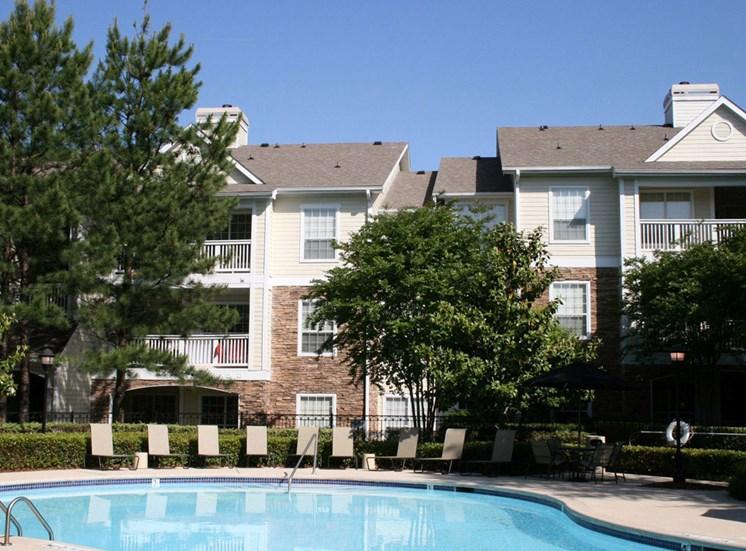 Poolside Sundeck at Lodge at Mallard Creek Apartments, 7815 Chelsea Jade Lane, Charlotte, 28269