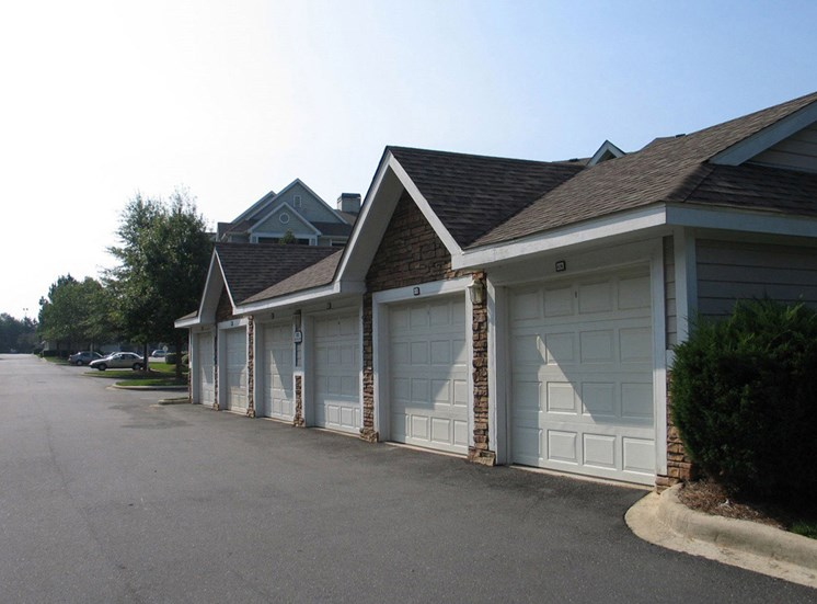 Covered Parking Garages at Lodge at Mallard Creek Apartments, 7815 Chelsea Jade Lane, NC 28269