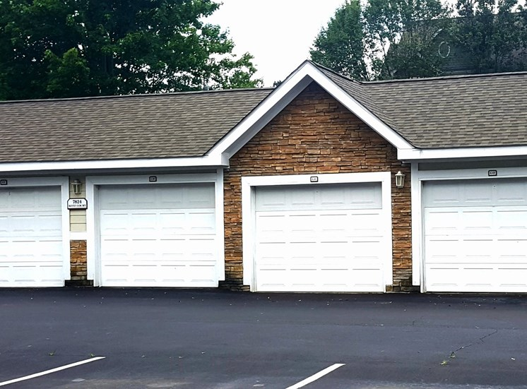 Garages Available at Lodge at Mallard Creek Apartments, Charlotte, 28269