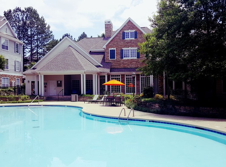 Resort Style Pool at Lodge at Mallard Creek Apartments, Charlotte