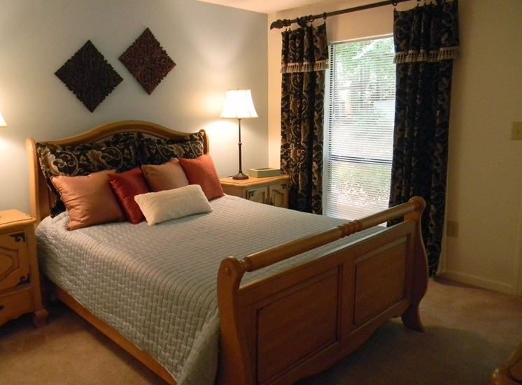 Spacious Bedrooms at Woodland Park, Greensboro, NC