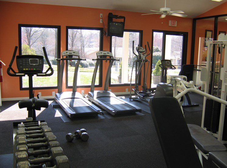 Fitness Gym at Woodland Park, Greensboro, NC