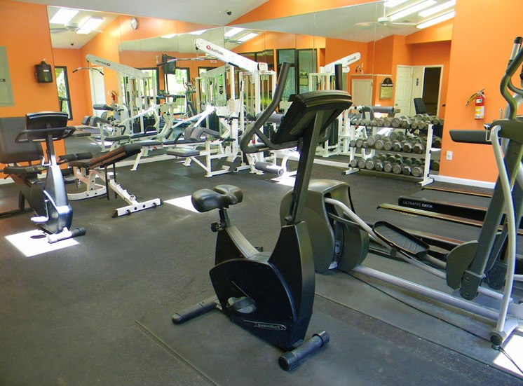 Spacious Fitness Center at Woodland Park, Greensboro, NC