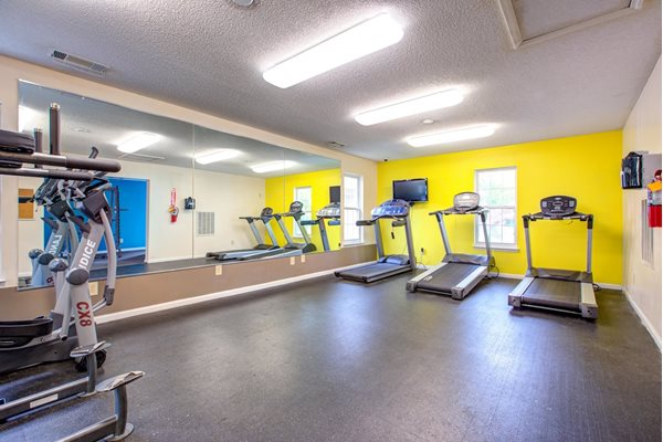 State-of-the-Art Fitness Center at Quad Apartments, Wilmington, NC