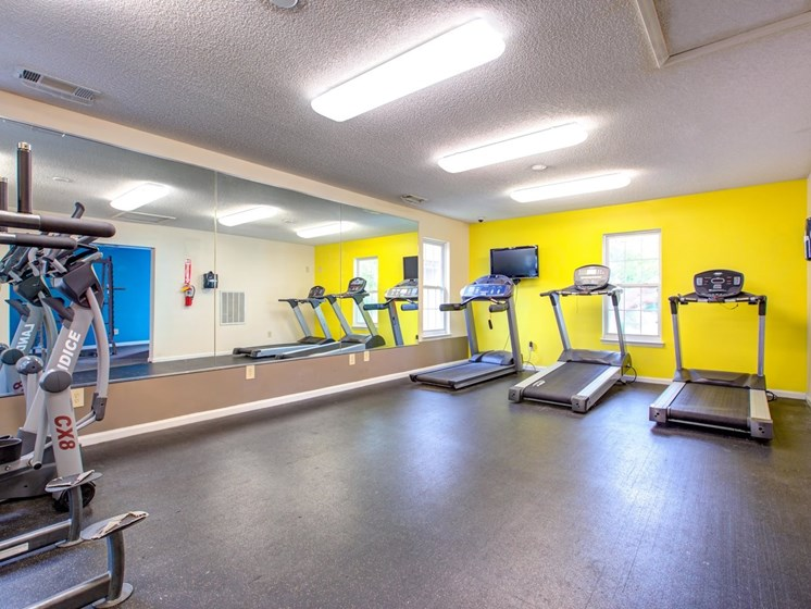 Cardio Equipment at Quad Apartments, Wilmington, 28403