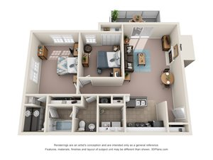 Floor Plan at Cypress Pointe