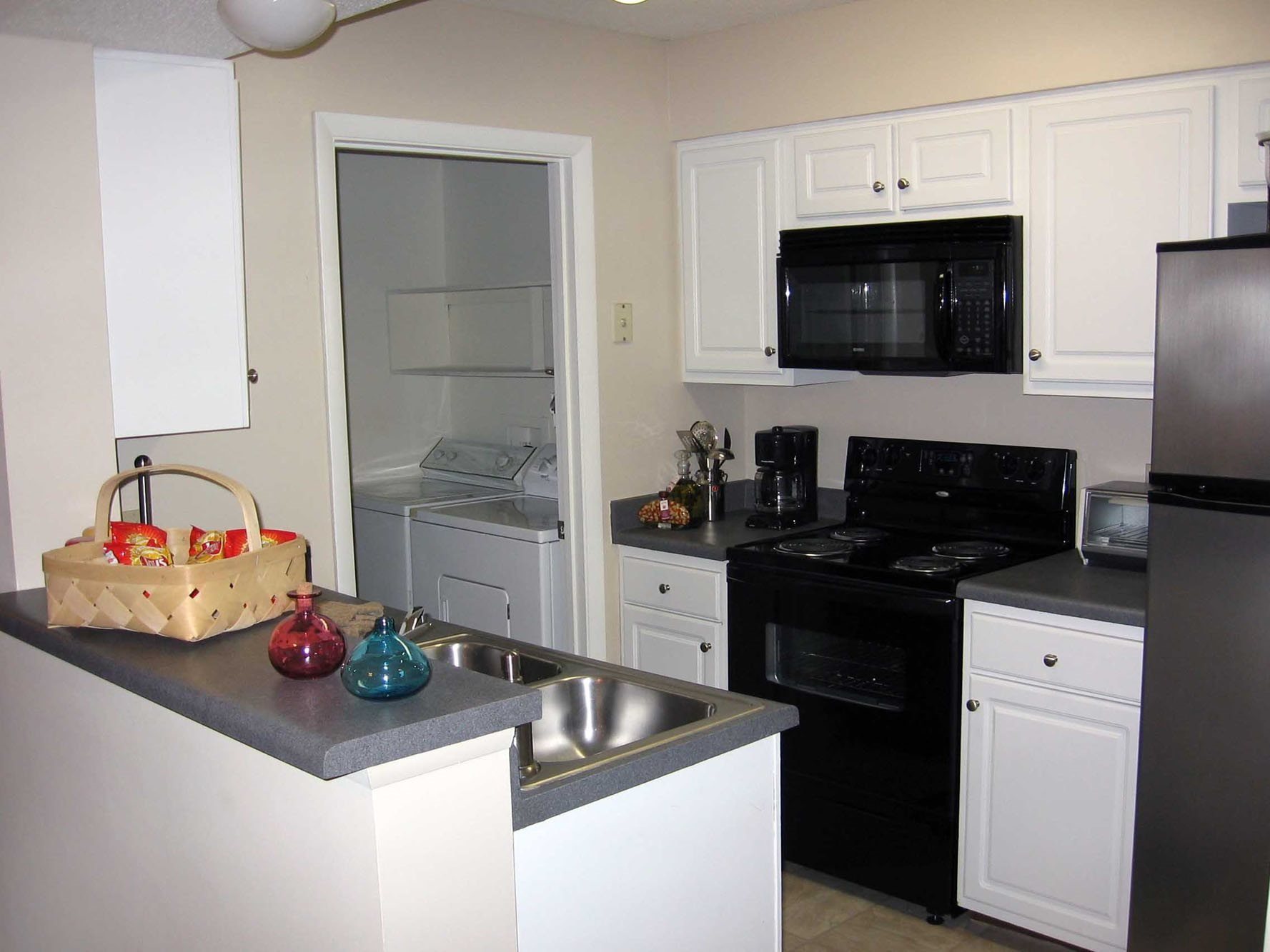 Spacious Kitchen with Pantry Cabinet at Cypress Pointe, NC