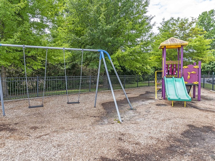 Children's Play Area at Woodland Crossing Apartments, New Bern, NC, 28562