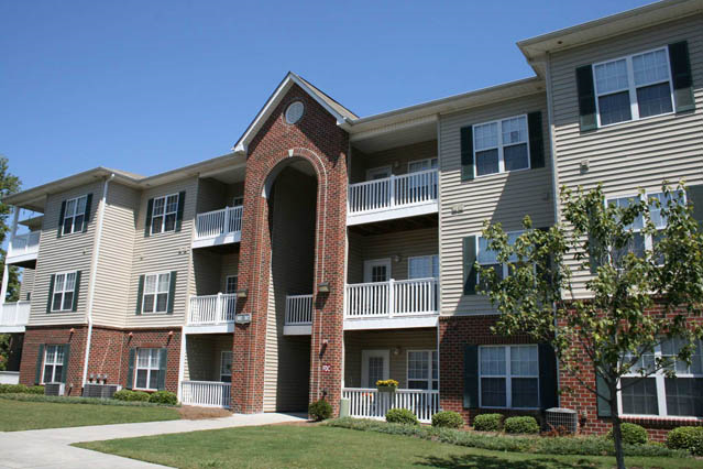 balcony and patio at Woodland Crossing, 28562