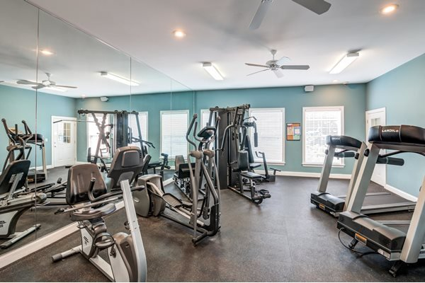 24 hour Fitness Center at Woodland Crossing Apartments, North Carolina, 28562