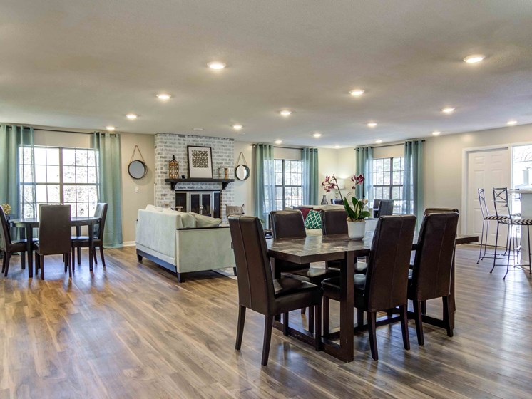 Grand Clubhouse at Northtowne Village Apartments, Hixson, TN