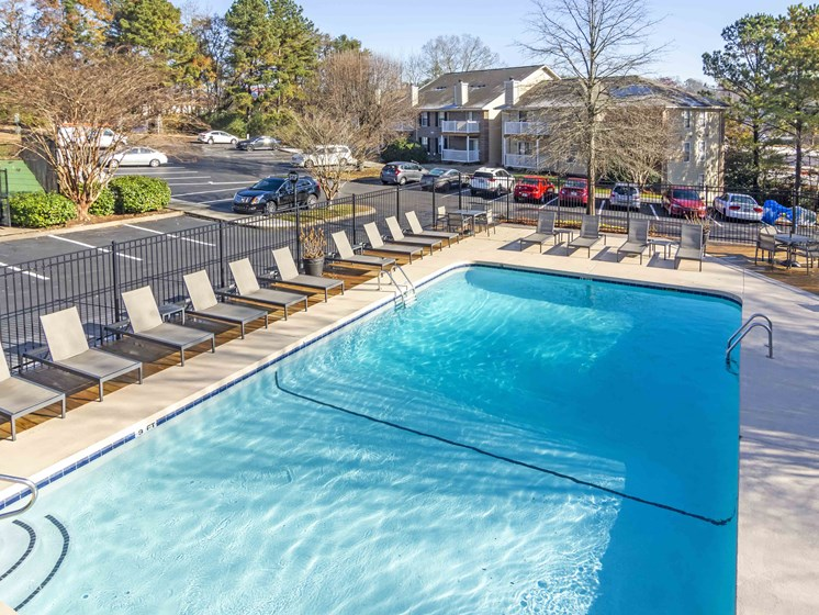 Resort Style Salt-Water Swimming Pool at Northtowne Village Apartments, Hixson