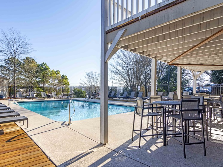Marvelous Sundeck at Northtowne Village Apartments, Tennessee