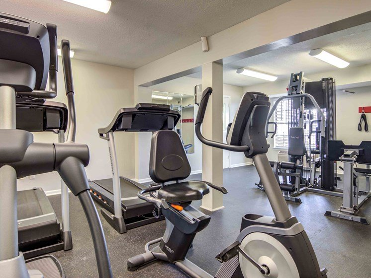 24-Hour Fitness Center at Northtowne Village Apartments, Hixson, TN