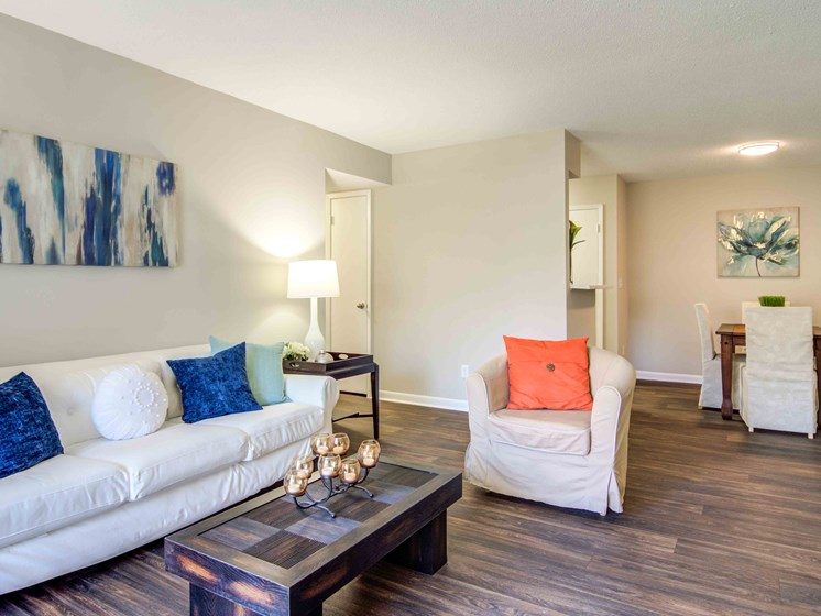 Wood-Style Flooring at Northtowne Village Apartments, Tennessee