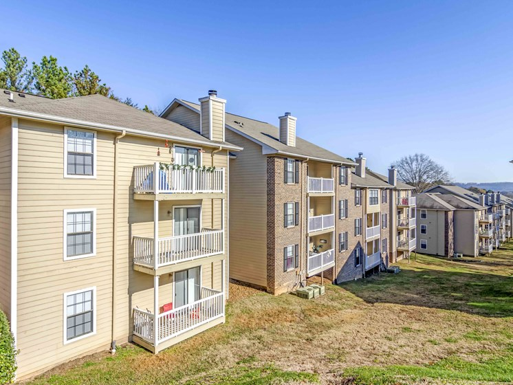 Balcony And Patio at Northtowne Village Apartments, Hixson