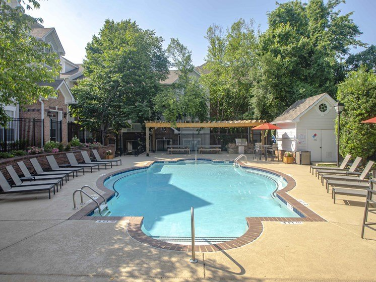 Olympic Size Swimming Pool, at Wyndchase at Bellevue Apartments, Tennessee, 37221