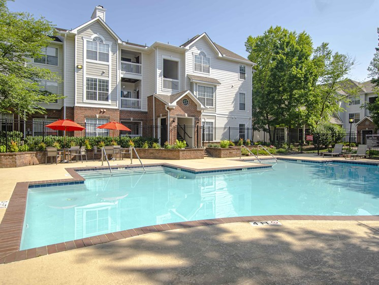 Pool with Sunning Deck, at Wyndchase at Bellevue Apartments, Nashville, TN 37221