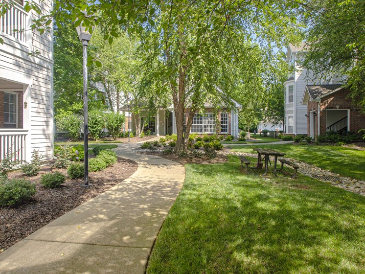 Lush Green Outdoor Spaces, at Wyndchase at Bellevue Apartments, Nashville, TN 37221