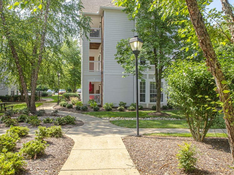 Greenspace Walking Trails, at Wyndchase at Bellevue Apartments, Nashville, 37221