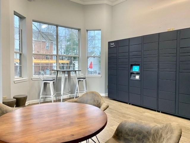 Amazon Hub Package Lockers