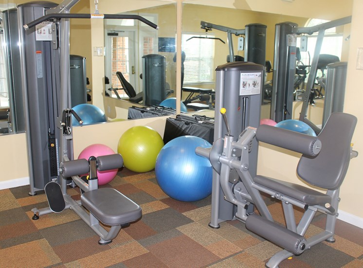 Fully Equipped Fitness Center at Waterford Landing, 37076