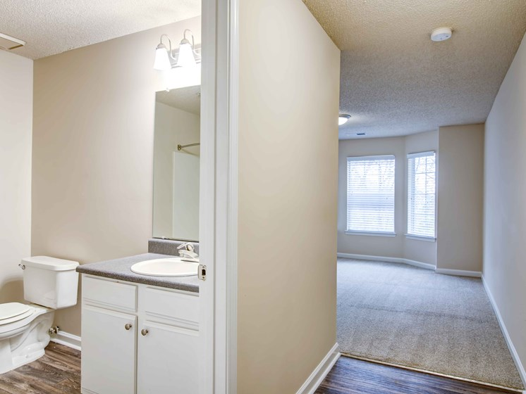 Spacious Bedrooms With en Suite Bathrooms at Waterford Landing Apartments, Hermitage, TN, 37076