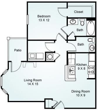THE AUGUSTA Floorplan at Waterford Landing