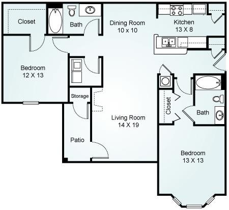 THE RUSHMORE Floorplan at Waterford Landing