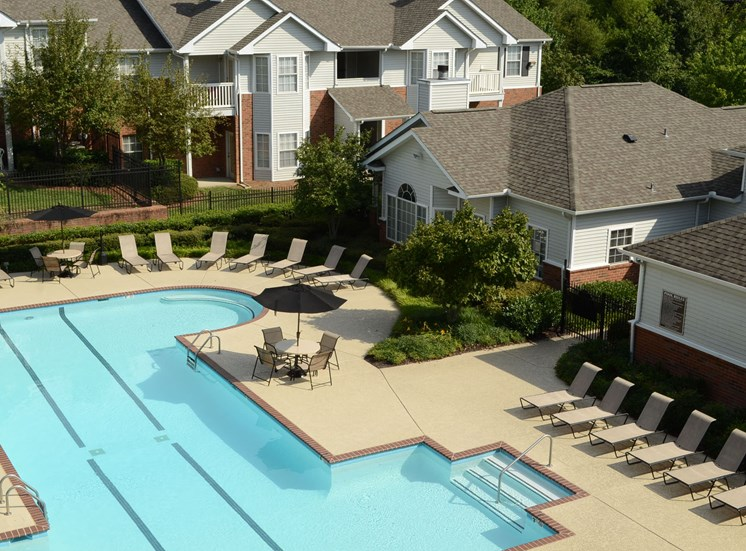Resort Style Pool and Sundeck at Waterford Landing, 37076