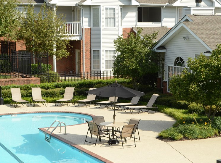 Resort Style Pool and Sundeck at Waterford Landing, Hermitage, TN,37076