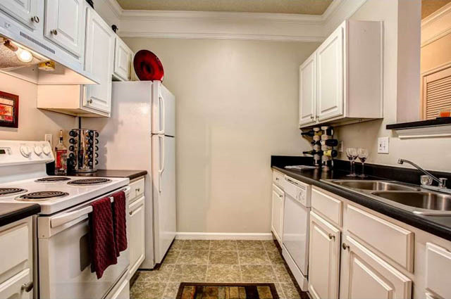 white cabinetry at Waterford Landing, 37076