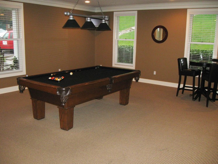 Clubhouse With Billiard Room