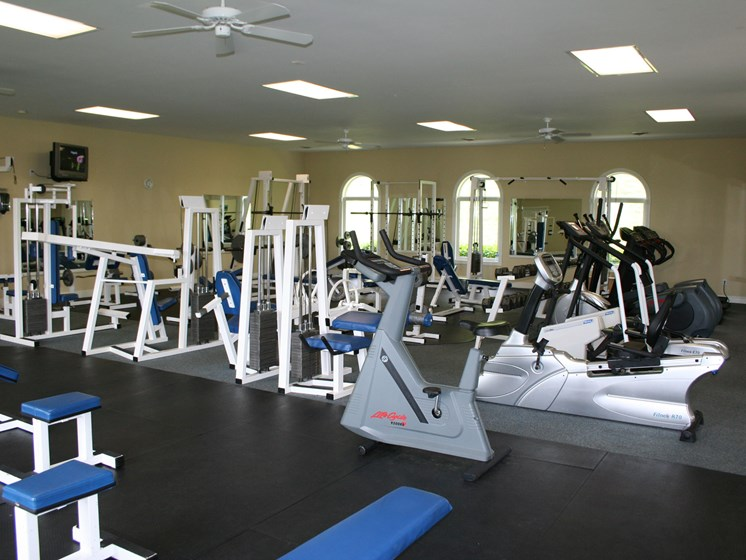 Updated, 24-Hour Fitness Center