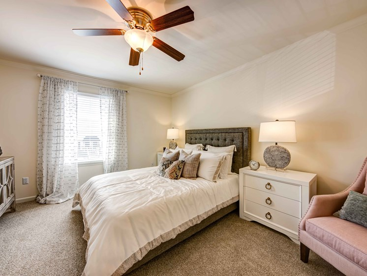 Comfortable Bedroom at Forest Ridge Apartments, Knoxville, 37931