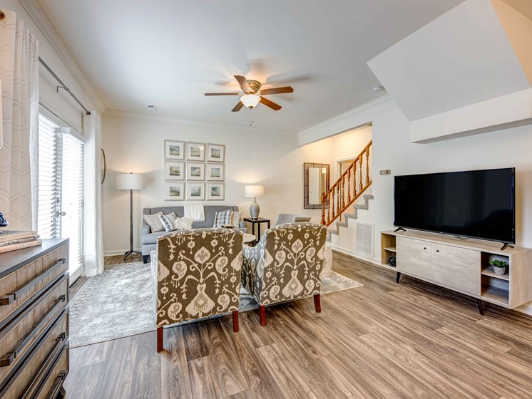 Wood Inspired Plank Flooring at Forest Ridge Apartments, Knoxville, TN