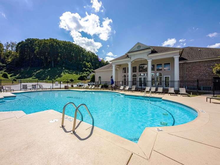Two Resort Swimming Pools at Forest Ridge Apartments, Knoxville, Tennessee