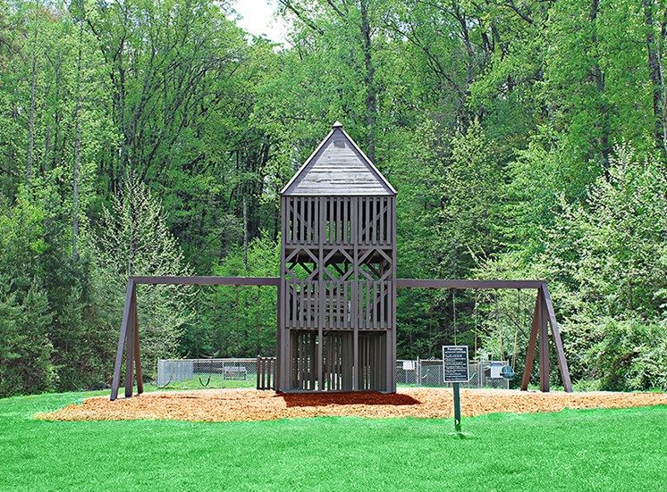 Playground and Activity Center at Forest Ridge, Knoxville, TN,37931