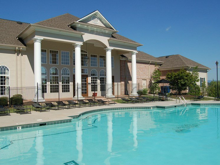 Two Resort Swimming Pools at Forest Ridge, Knoxville, TN,37931
