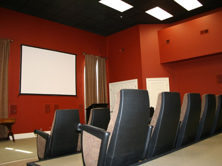 35 Seat Cinema Room at Forest Ridge, Knoxville, TN,37931