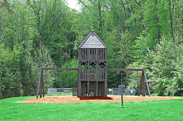 playground and activity center, Knoxville, TN, Forest Ridge