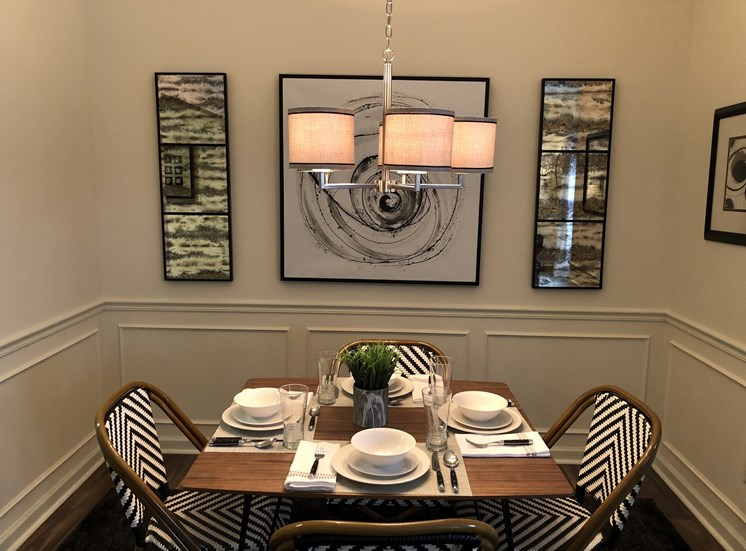Spacious Dining Room at Forest Ridge
