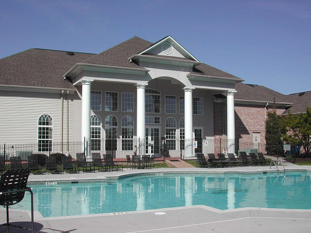 two resort swimming pools, Knoxville, TN. Forest Ridge