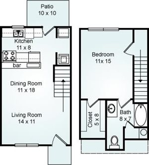 THE GOLDEN Floorplan at Eagle Pointe