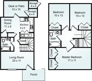 THE GREAT BALD Floorplan at Eagle Pointe