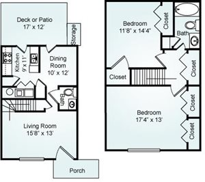 THE SILVER Floorplan at Eagle Pointe