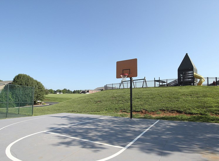 Basketball Court at Smoky Crossing