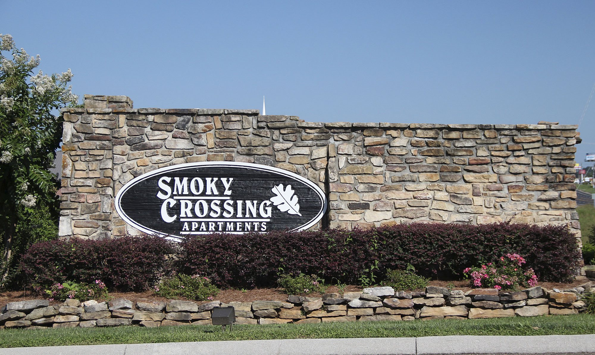 Exterior Sign Smoky Crossing